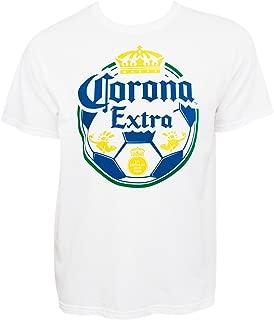 Corona Extra Soccer Ball Logo Tshirt