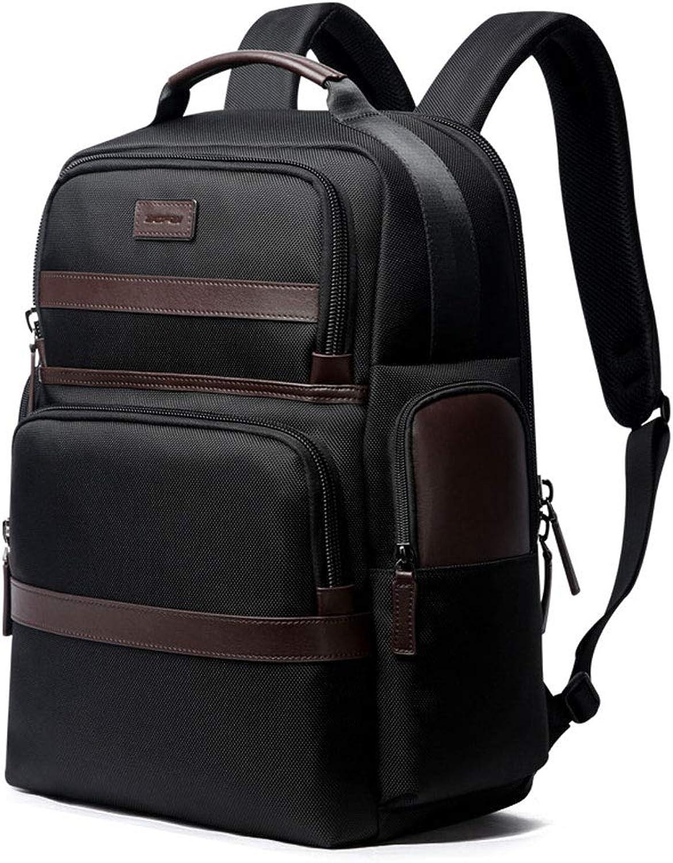 Business-Laptoptasche Für Mnner 15,6 , wasserdichte Reisetasche Für Unterwegs (Farbe   Schwarz, gre   M)