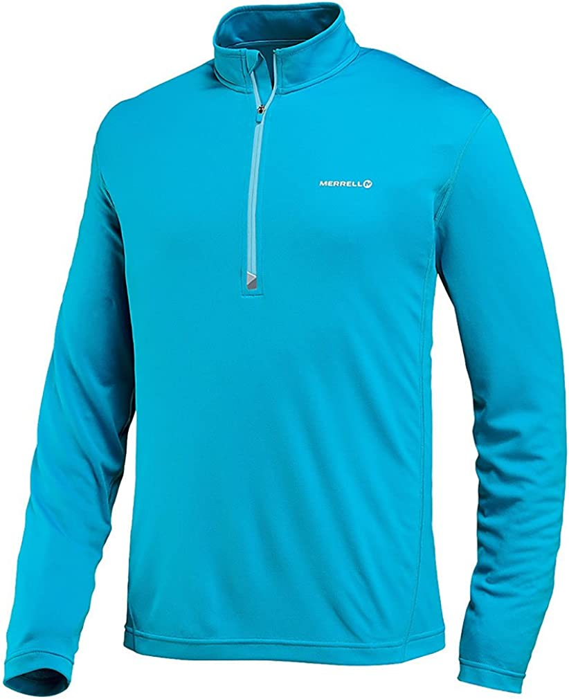 Merrell Beauty products Men's Morpheous Super special price Half Orb X-Large Zip Shirt