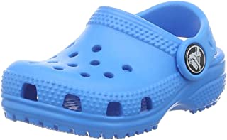 Crocs Kids' Classic Clog, Ocean, 9 M US Toddler