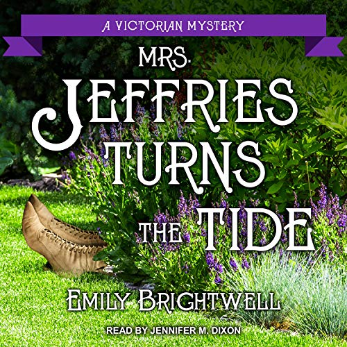 Mrs. Jeffries Turns the Tide audiobook cover art