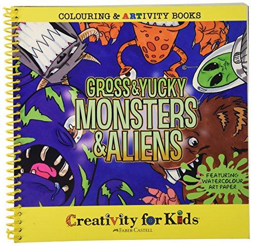 Creativity for Kids - Cfk6004 - Kit De Loisirs Créatifs - Monstres Et Aliens Répugnants Et Dégoûtants