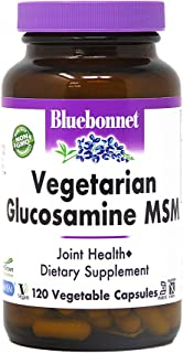 Sponsored Ad - BlueBonnet Vegetarian Glucosamine Plus MSM Supplement, 120 Count ('743715011151)