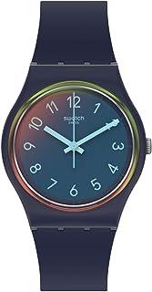 Quartz Plastic Strap, Blue, 16 Casual Watch (Model: GN274)
