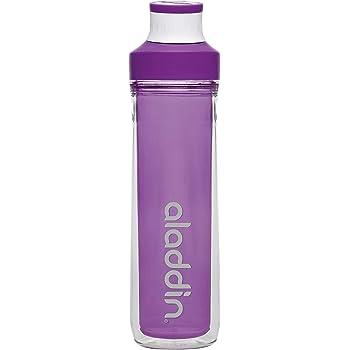 Aladdin Active Hydratation Tracker bouteille d/'eau 0.8 L Rouge