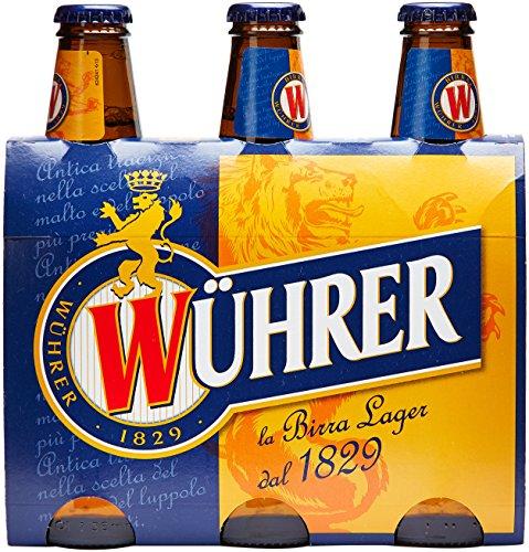 Wuhrer - Birra Bottiglia, 330 ml (Pacco da 3)