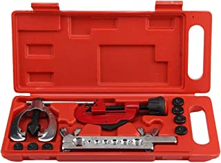 Hand Tool Sets - Heat Treated Steel Metal Tube Cutter Brake Fuel Pipe Repair Double Flaring Die Set Clamp Kitfor - Craftsman Hand Heat Steel Clearance Tool Treated Case Sale Sets