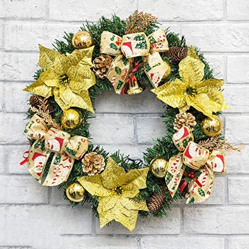 AX-ornament Christmas wreath door window decoration Christmas decorations / 10