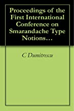 Proceedings of the First International Conference on Smarandache Type Notions in Number Theory (University of Craiova, 1997) [Smarandache Notions, Vol 8 (English Edition)