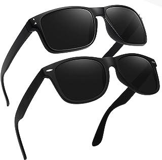 Polarized Sunglasses for Men Classic Retro Driving Sun Glasses 100% UV Protection