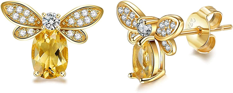 Stud Earrings925 SterlingSilver Earrings Deluxe Cute Desig Ranking TOP20 Style