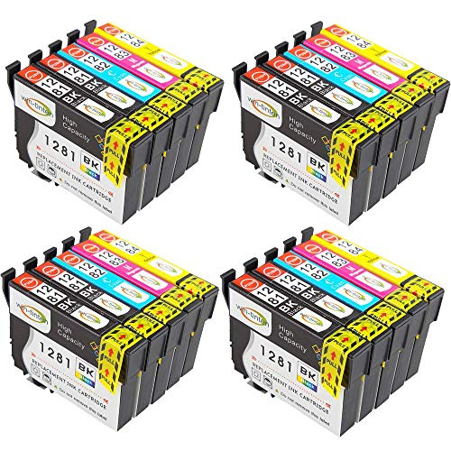 Win-Tinten Cartucce d'inchiostro compatibili T1295(T1291-T1294) per Epson Stylus Office BX305FW BX525WD BX625FWD B42WD BX925FWD BX535WD SX420W SX425W stampante (6 Nero 3 Cyan 3 Magenta 3 Giallo)