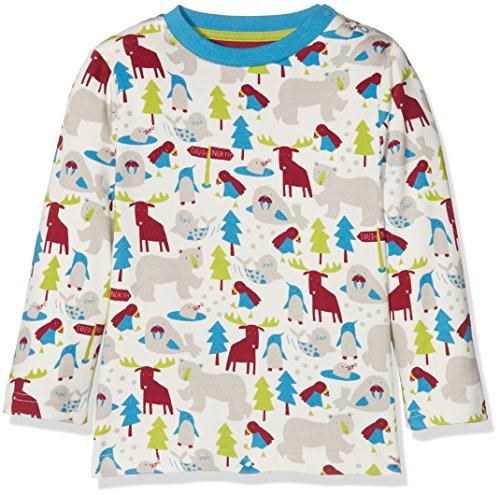 Kite Kite Baby-Jungen Ice Animals T-Shirt Langarmshirt, Mehrfarbig (Multi Multi), 6-12 Monate