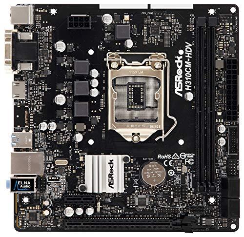 ASRock H310CM-HDV Scheda madre Intel H310, DDR4