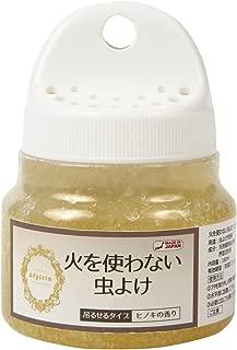 火を使わない虫よけ 160ml (ヒノキの香り)【日本製】【不快害虫対策】【ディート無添加】 ムカデ ヒノキ