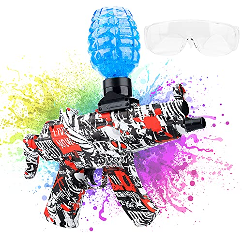 Electric MP5 Gel Ball Water Blaster Toys — Shoots Eco-Friendly Water Beads Bullets for Outdoor...