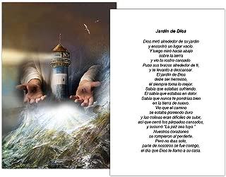 Tarjetas Funerales De Recordatorio (50 Cards) FPC1150ES El faro de Dios (Seleccione oracion deseada)