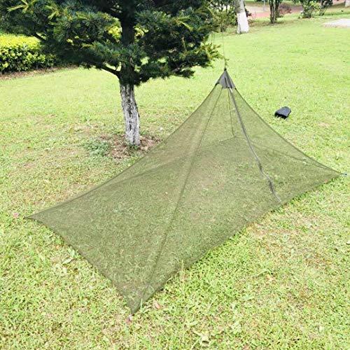 My-Nature-Life Camping Moskitonetz, Leichter, kompakter und Robuster Mückenschutz für Reise und Outdoor - mit Boden und 4 Heringen