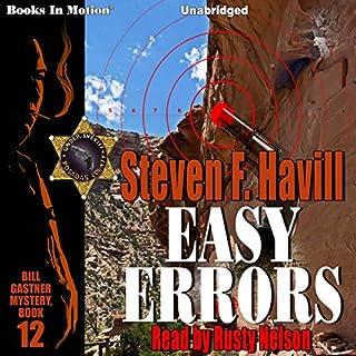 Easy Errors audiobook cover art