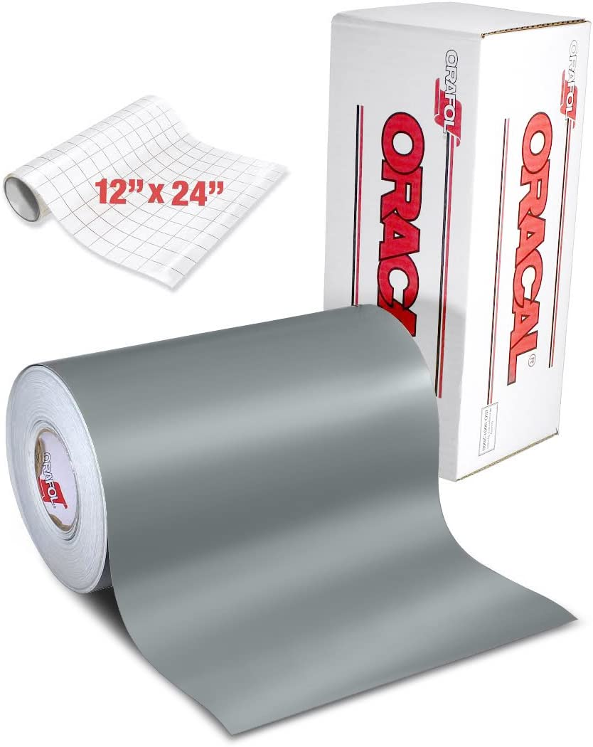 It is very popular Soldering ORACAL 631 Matte Grey Adhesive Craft Cameo Vinyl Cricut for S