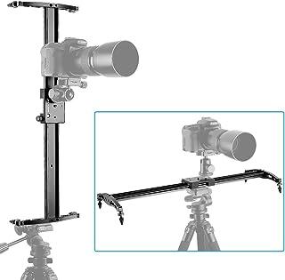 Neewer - Carril deslizante profesional de 80 cm, Riel estabilizador, para Cámara DSLR con Capacidad de Carga 5 Kilogramos, Perfecto para Fotografía y Video