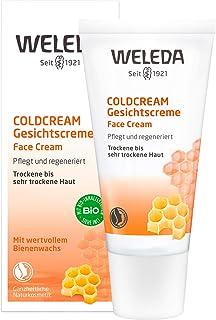 WELEDA Coldcream, Naturkosmetik Gesichtscreme zur intensiven Pflege von trockener bis sehr trockener Haut im Gesicht und am Hals, Feuchtigkeitscreme zum Schutz vor dem Austrocknen 1 x 30 ml