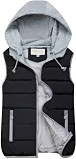 Gihuo Women's Quilted Padded Puffer Vest Gilet