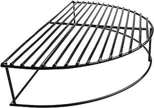 Mydracas BBQ Grill Expander Rack,Smoking Rack Porcelain Coated Stack Rack Upper Deck Increase Grilling Surface Large Big Green Egg,18 inch Weber Kettle Grill(16 inch)