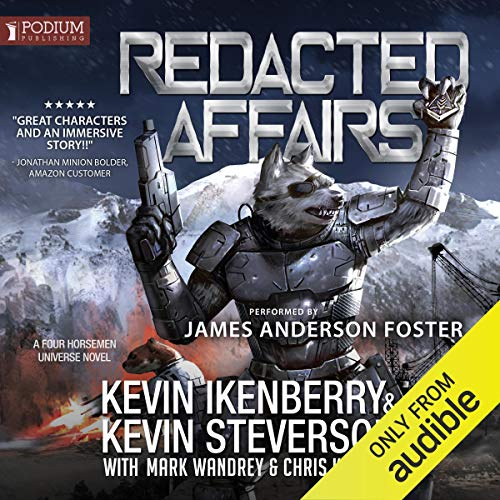 Redacted Affairs  By  cover art