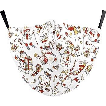 Eboutik Niedliche Lustige Weihnachts Gesichtsmaske Für Kinder Mit Filterschlitz Wiederverwendbar Und Waschbar Bei 60 Grad Stern Rentier Auto