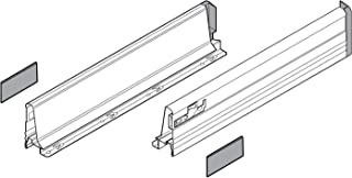 """358M5502S Tandembox M- 22"""" Drawer Profile Left/Right Grey"""