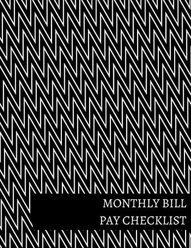 Monthly Bill Pay Checklist
