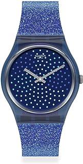 Quartz Silicone Strap, Blue, 16 Casual Watch (Model: GN270)