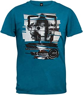 Doctor Who - Mens Cyber-leader Soft T-Shirt Large Blue [Apparel]