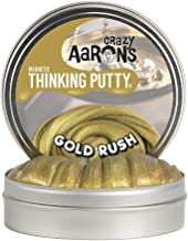 Crazy Aaron's Thinking Putty, 3.2 Ounce, Super Magnetic Gold Rush