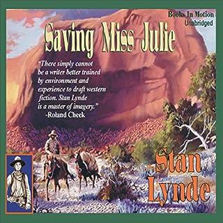 Saving Miss Julie audiobook cover art