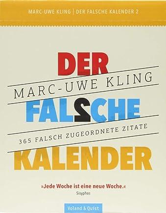 Der falsche Kalender 2 by Marc-Uwe Kling