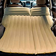 Colchon Hinchable Cama Para Coche Colchón de aire para automóvil SUV: cama inflable de alta resistencia con bomba para carro, minivan, hatchback, tienda de campaña, carga 250 kg, 195 × 140 × 10 cm