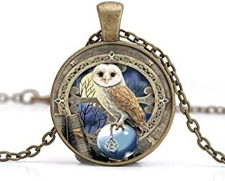 steampunk owl jewelry