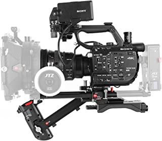 JTZ DP30 Camera Base Plate Shoulder Support Rig 15mm Rod Kit for Sony Camera FS5 PXW-FS5 Camera