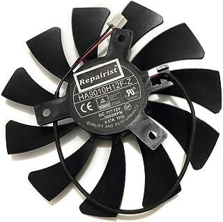 HA9010H12F-Z MSI用 Geforce用 GTX 1050 2G GTX 1050Ti 4G OC ラフィックカードクーラー ビデオカードクーラー 交換チップファン VGAクーラー(Single Fan 85MM 0.57A 2Pin)