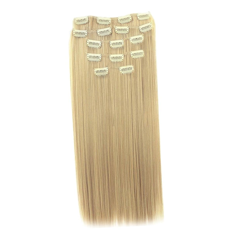 オーバーラン代名詞登場Perfk かつら 合成ヘア エクステンション クリップ ヘアスタイリング 長い カーリー 髪延長 使用簡単