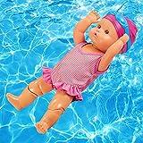 Hpory Muñeca flotante, muñeca de agua para bebé, muñeca de bebé para niños, juguete de natación, min...