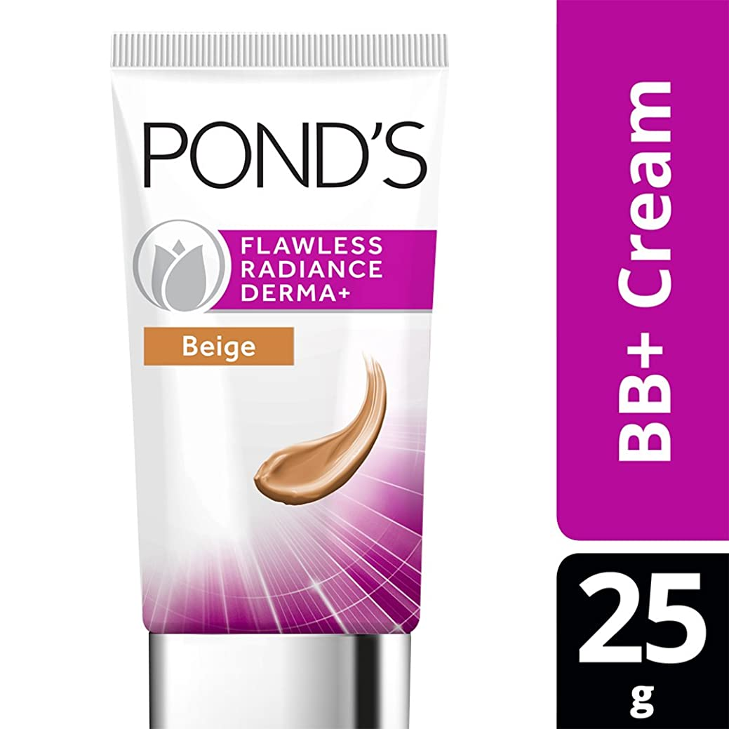 拷問ブロック命令的POND'S Flawless Radiance Derma+ BB Cream Beige, 25g