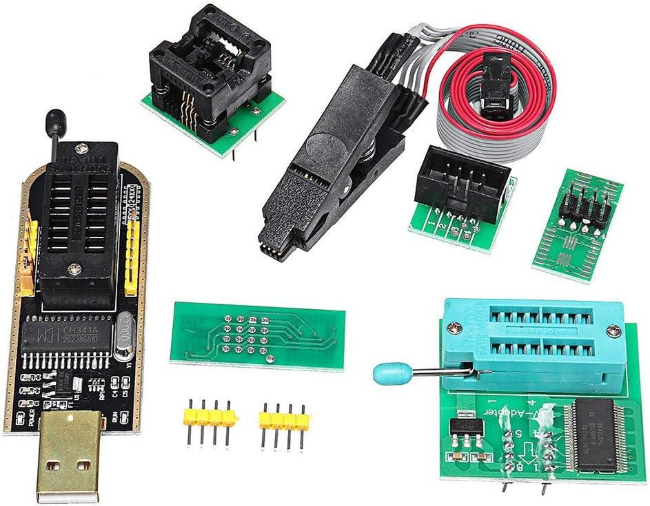 Usb Eprom Flash Bios Programmiermodul Kit Mit Ch341a Computer Zubehör