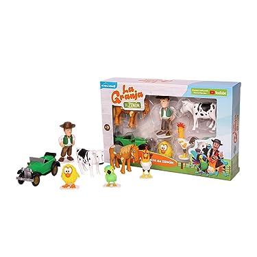 La Granja de Zenon Adventure Action Figures Set , 7 Collectible Action Figures, Toys for Kids Ages 3 and Up