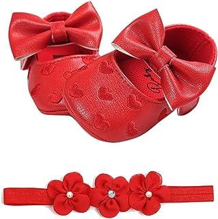 Zapatos bebe Zapatillas bebe primeros pasos comodos calentito 0 3 6 9 12 meses 2019 Rojos Rojas Todo de Rojo
