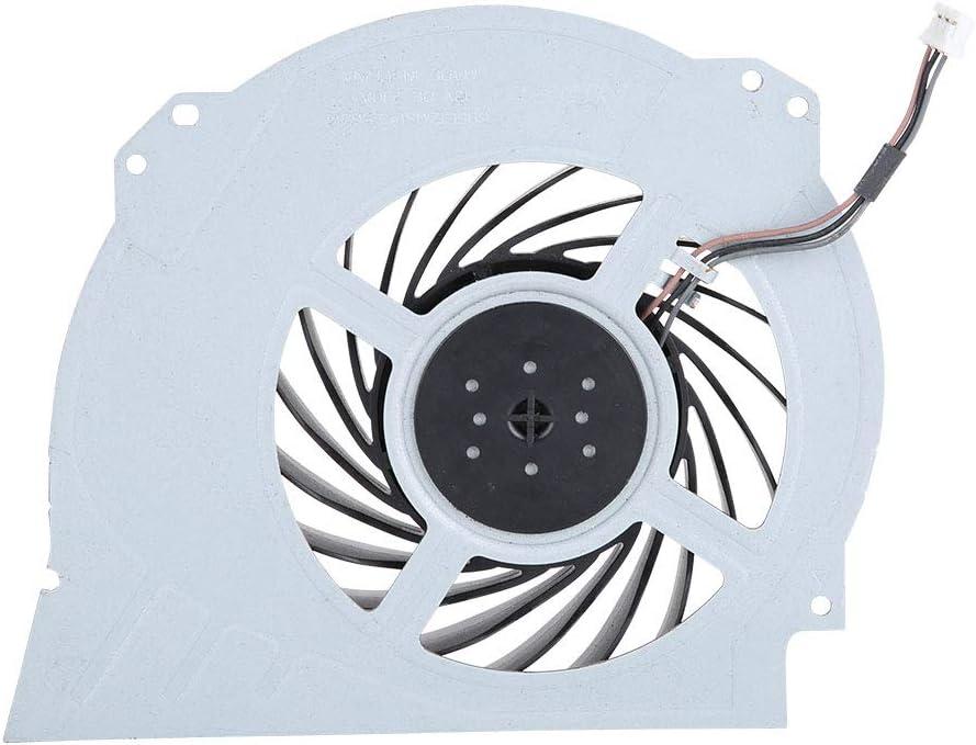 ROMACK Ventilador de refrigeración Ventilador de refrigeración Interno Reemplazo Compacto y Duradero DC 12V Pieza de reparación, para PS4 Pro 7000-7500