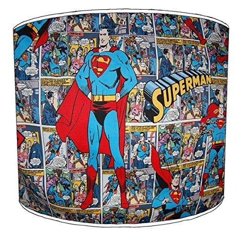 Premier Lampshades Decke superman Comic-Buch Lampenschirme - 25,4cm