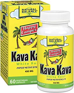 Natural Balance Kava Kava Root | Natural Supplement Helps Support Relaxation & Stress Reduction | 60 Veggie Capsules